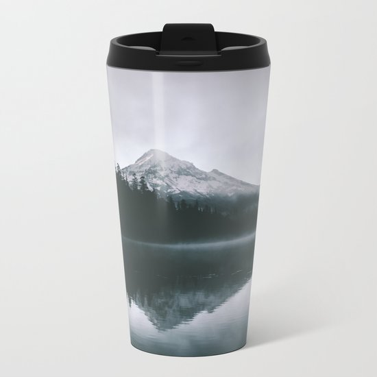 Mount Hood X Metal Travel Mug