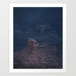 Storm has arrived, Grand Canyon Art Print