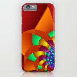 chaotic colors -2- iPhone Case