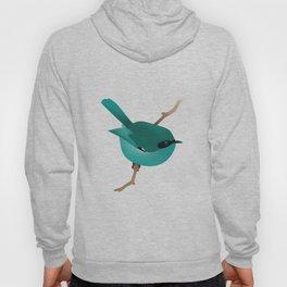 Little Blue Bird Hoody