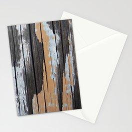 Yellow Patina Wood Stationery Cards
