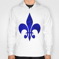 renaissance Hoodies featuring Renaissance Blue by Charma Rose