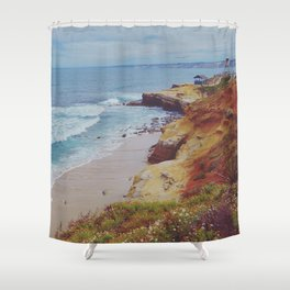 La Jolla Shores Shower Curtain