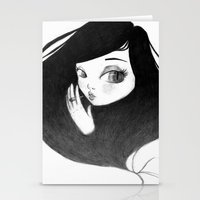 cigarette Stationery Cards featuring cigarette by Caitlin Roberts