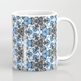 Angry Floral Stitches Coffee Mug