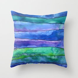 Undertow Throw Pillow