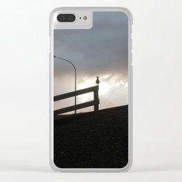 Bird Watching Clear iPhone Case
