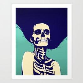 Día de las Muertas Art Print
