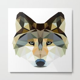 The Wolf of... Metal Print
