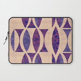 Seventies violet Pattern Laptop Sleeve