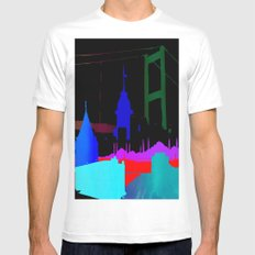 Istanbul White MEDIUM Mens Fitted Tee