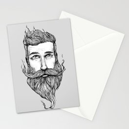 The Beard '14 MUST STACHE Stationery Cards