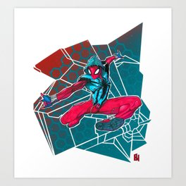 The Scarlet Spider Art Print