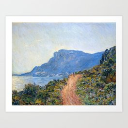 Claude Monet French, 1840-1926, La Corniche Art Print