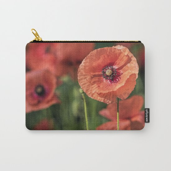 Poppy what else? Carry-All Pouch
