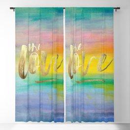 One Love, Ocean Sunrise 2 Blackout Curtain