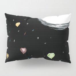 Raining Hearts - Blooming Flower-Valentine's day Pillow Sham