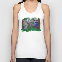 hallion Tank Tops featuring Visions are Seldom all They Seem by Karen Hallion Illustrations