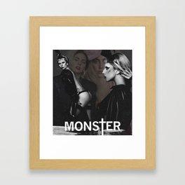 Mother Monster Framed Art Print