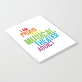 Musical Theater Pride Notebook