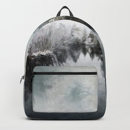 Winter on the Menominee Backpack