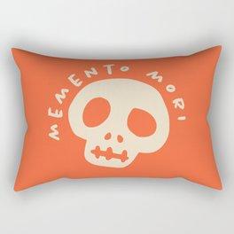 Memento Mori (Remember you will die) Rectangular Pillow