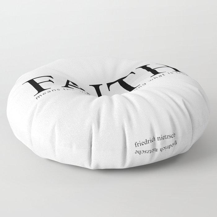 FAITH Floor Pillow