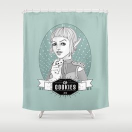 Sera´s Us Cookies Shower Curtain