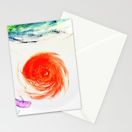 """""""come with me, my love, to the sea, the sea of love""""/ cat power (version) Stationery Cards"""