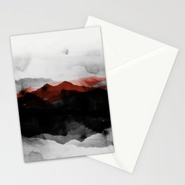 nature montains Stationery Cards