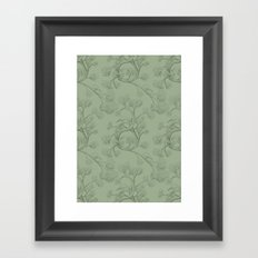 The Night Gardener - Endpapers Framed Art Print