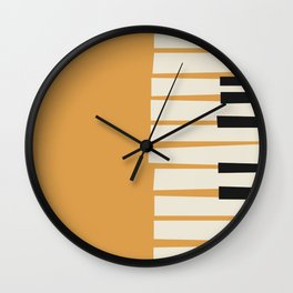 Vintage poster-Jazz festival-Jazz en nord 1. Wall Clock