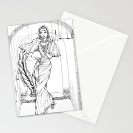 Saree Stationery Cards