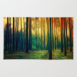 Green Forest Rug