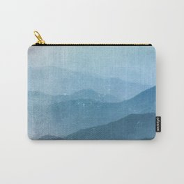 Great Smoky Mountain National Park Sunset Layers - Nature Photography Carry-All Pouch