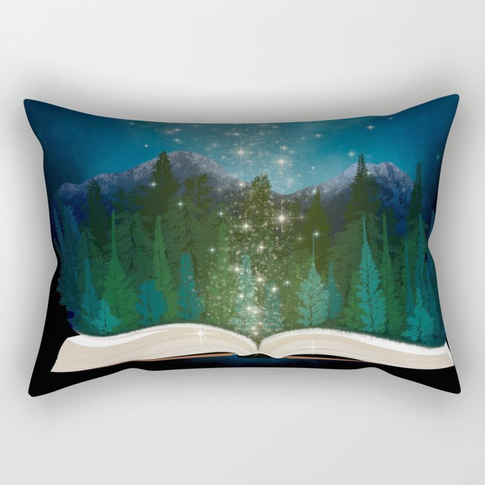 Open Your Imagination Rectangular Pillow