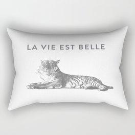 LA VIE EST BELLE - Life Is Beautiful Rectangular Pillow