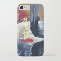 uncharted iPhone & iPod Cases featuring Glimpses from the Terabytical Depths of an Uncharted Mind by Rochana Dubey