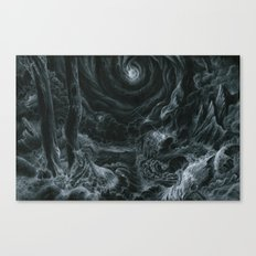 Lets tear it all down and rebuild it with meaning Canvas Print