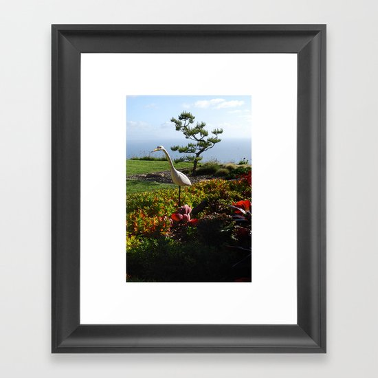 Master of the Garden  Framed Art Print