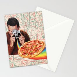 pizza obsession Stationery Cards