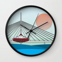Esplanade Riel Wall Clock