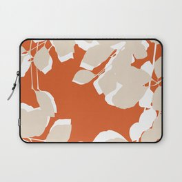 leaves rust and tan Laptop Sleeve