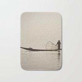 Inle Lake Myanmar Bath Mat