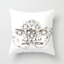 Do You Remember The Time? Throw Pillow