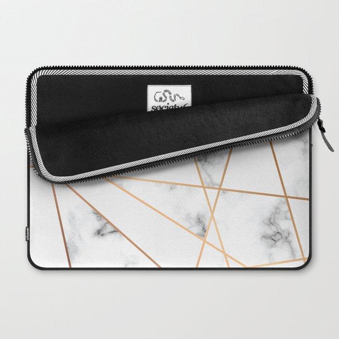 Marble Geometry 054 Laptop Sleeve