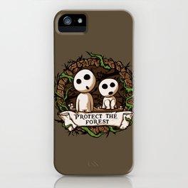Save Kodamas V2 iPhone Case