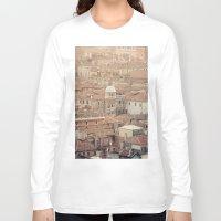 venice Long Sleeve T-shirts featuring Venice by Yolanda Méndez