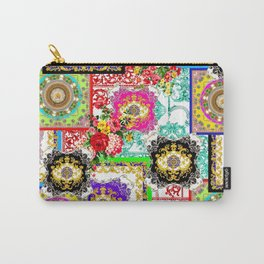 pachwork ethnic pattern  Carry-All Pouch