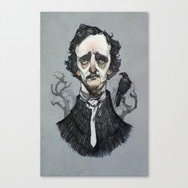 Mr. Poe  Canvas Print